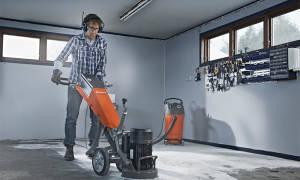 Машина для шлифования бетона