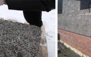 Как изготовить блоки из опилок