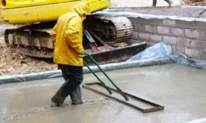 Можно ли заливать фундамент в дождь