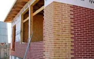 Фасадные панели с клинкерной плиткой без утеплителя
