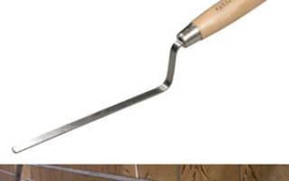 Инструмент для затирки швов клинкерной плитки