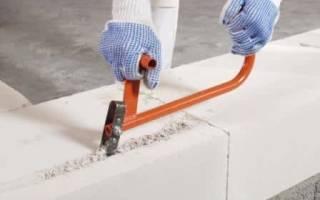 Как сделать штроборез для газобетона своими руками