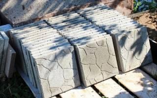 Изготовление тротуарной плитки своими руками технология