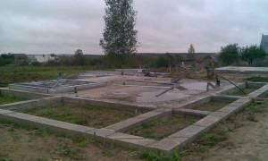 Плитный фундамент для дома из пеноблоков