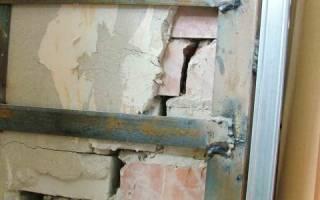 Как укрепить стены старого дома